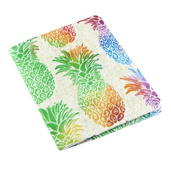 Five Sprouts Stitching Slim women's credit card wallet pineapple