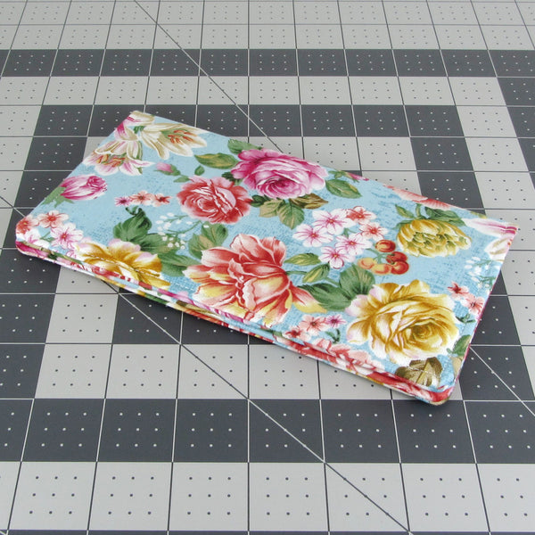 roses checkbook wallet