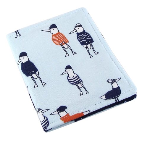 Handmade Seagull Slim Women's Credit Card Wallet