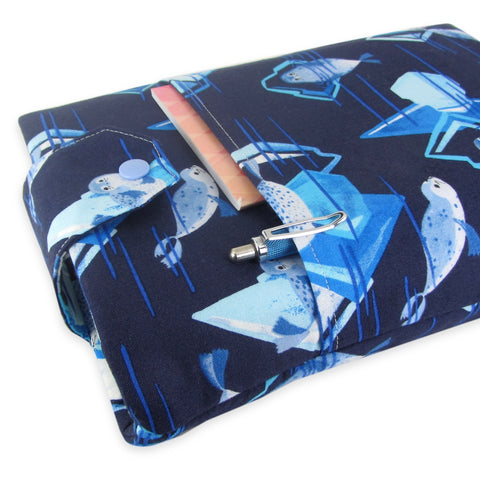 Handmade Seal Fabric Book Sleeve