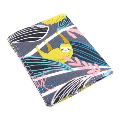 Handmade Sloth Slim Women's Credit Card Wallet