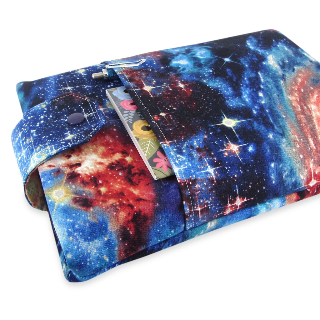 Handmade Space Galaxy Fabric Book Sleeve