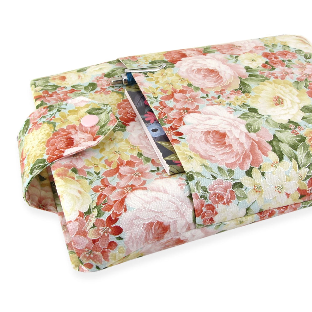 Handmade Flower Fabric Book Sleeve