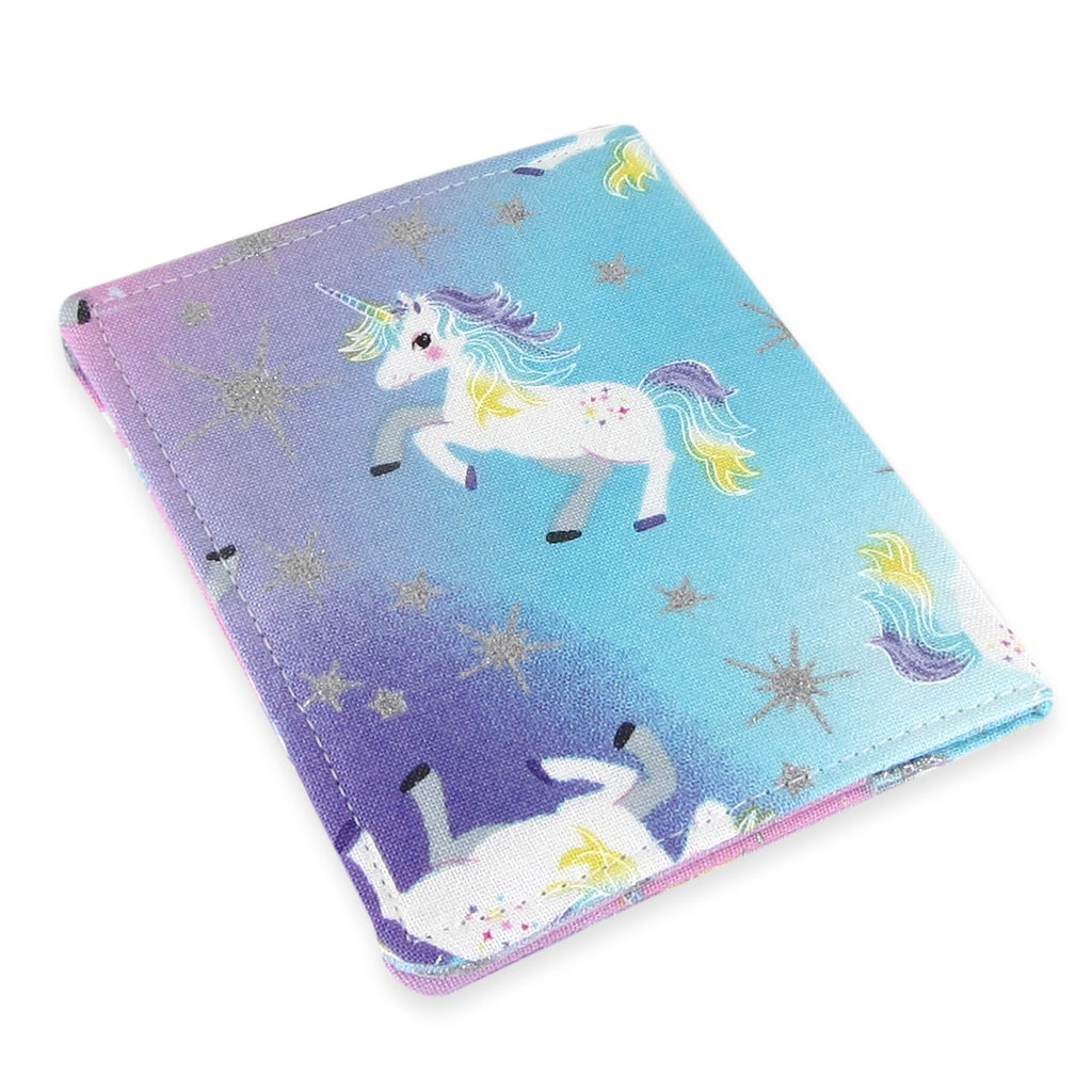 Handmade Unicorn Slim Women's Credit Card Wallet