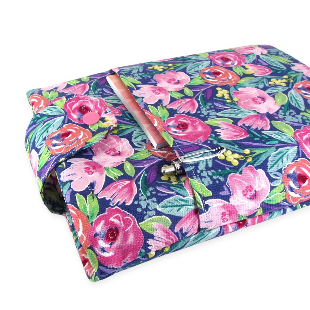 flower book sleeve