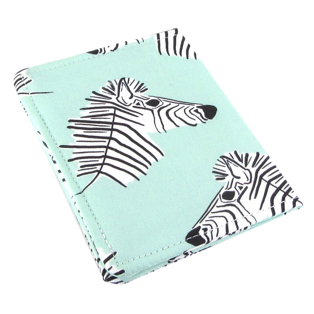 Zebra slim women's credit card wallet