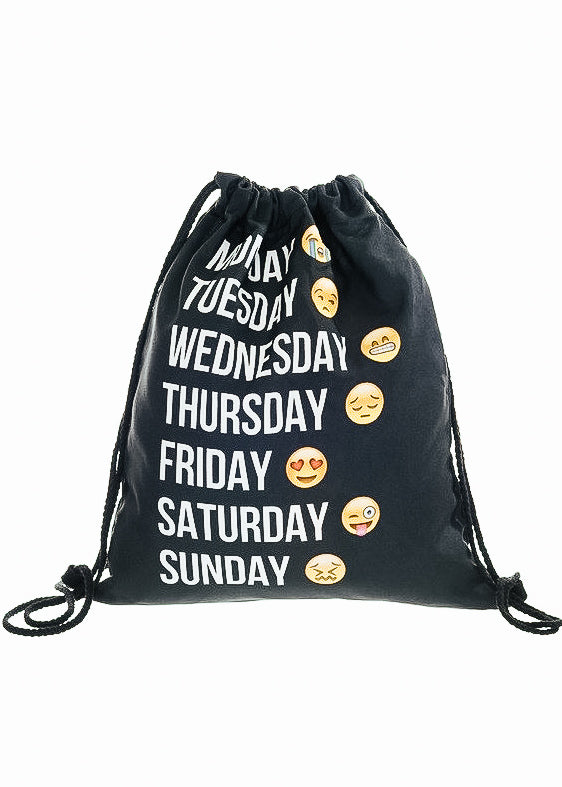 Days of the Week Gym Bag