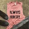 Always Hungry Muscle Tank - MAUVE