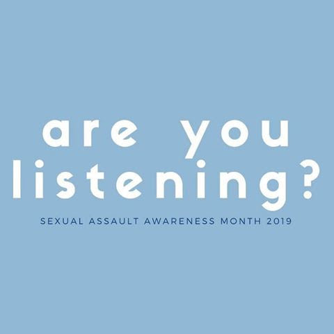 Sexual Assault Awareness &Prevention Month