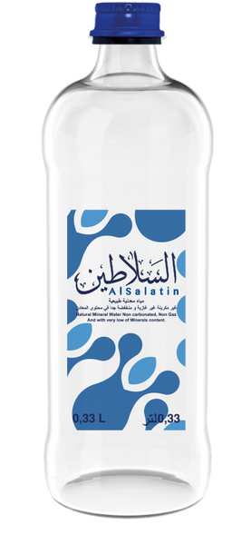 0.33 L Glass Natural Mineral Water (Al Salatin) 12x330ml