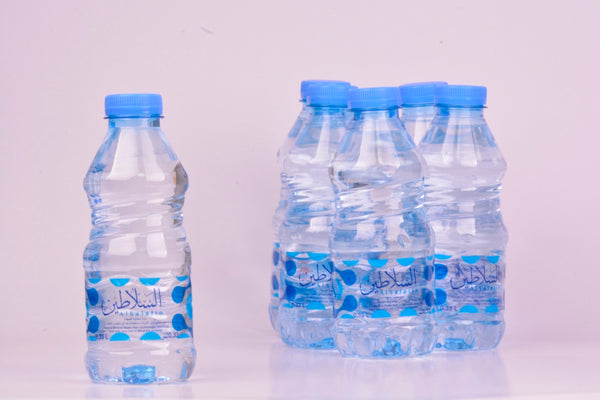 Al Salatin Natural Mineral Water 330 ml (Blue) 12 pcs