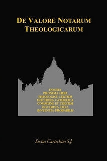 De Valore Notarum Theologicarum
