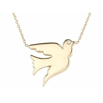 Gold Dove Necklace