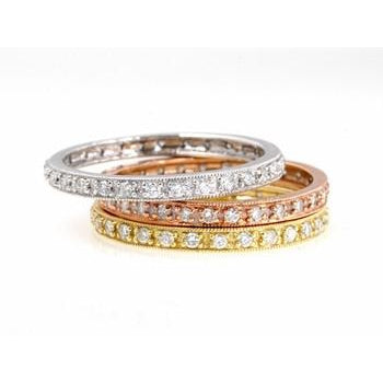Pave Diamond Ring