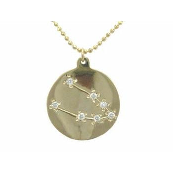 Taurus Zodiac Sign Necklace
