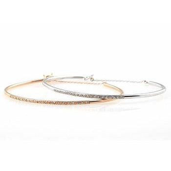 Thin Diamond Cuff Bracelet