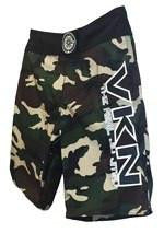 CAMO VKN NOGI KIDS SHORTS GREEN