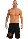 VKN MMA FIGHT SHORTS BLACK
