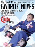 RAFAEL FREITAS FAVORITE MOVES: SIDE MOUNT AND MOUNT ATTACKS