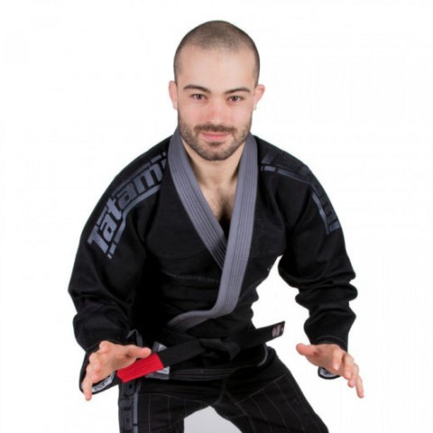 ESTILO 5.0 PREMIER BJJ GI - BLACK TRIPLE THREAT