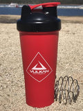 PROTEIN SHAKER RED/BLACK