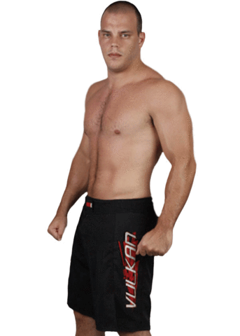 VKN EDGE FIGHT SHORTS BLACK
