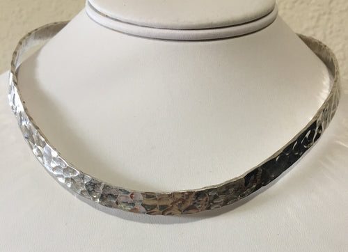Sterling Silver Bangle Necklace