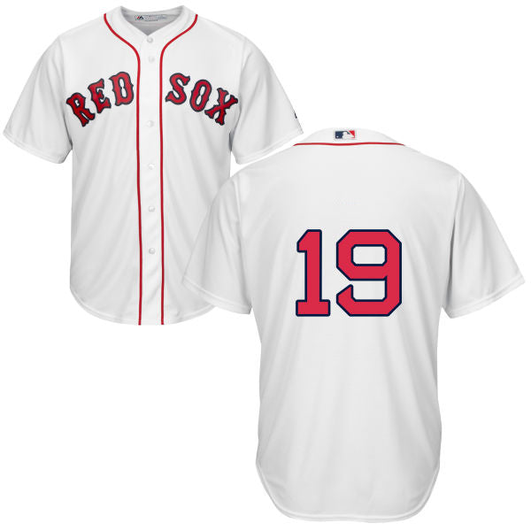 Men's Boston Red Sox Jackie Bradley Jr. Majestic Home White Cool Base Jersey