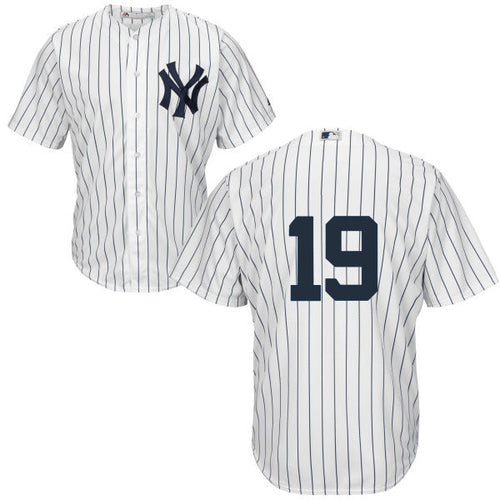 Men's New York Yankees Masahiro Tanaka Majestic Home White Pinstripes Cool Base Player Jersey