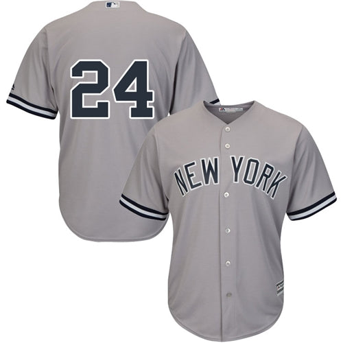 Men's New York Yankees Gary Sanchez Majestic Road Gray Cool Base Player Jersey