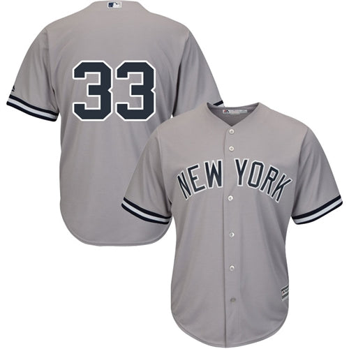 Men's New York Yankees Greg Bird Majestic Road Gray Cool Base Player Jersey