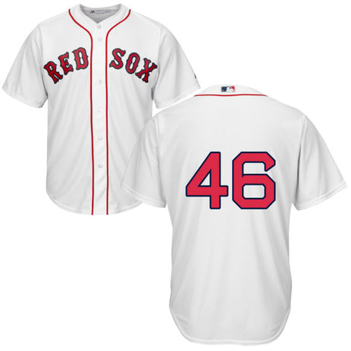 Men's Boston Red Sox Craig Kimbrel Majestic Home White Cool Base Jersey