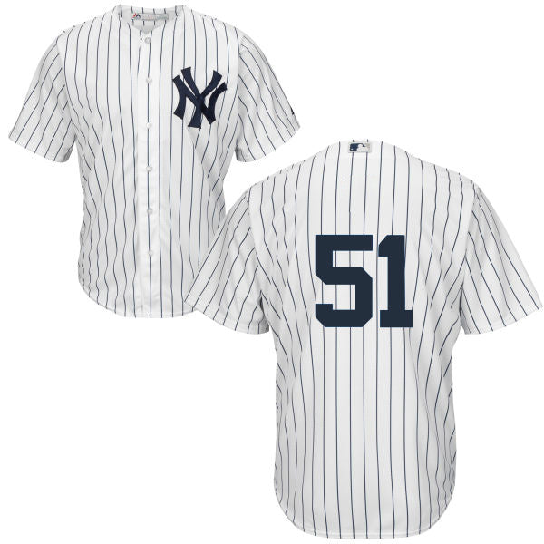 Men's New York Yankees Bernie Williams Majestic Home White Cool Base Player Jersey