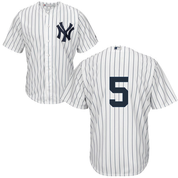 Men's New York Yankees Joe DiMaggio Majestic Home White Cool Base Player Jersey