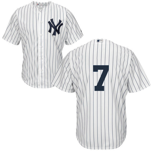Men's New York Yankees Mickey Mantle Majestic Home White Cool Base Player Jersey