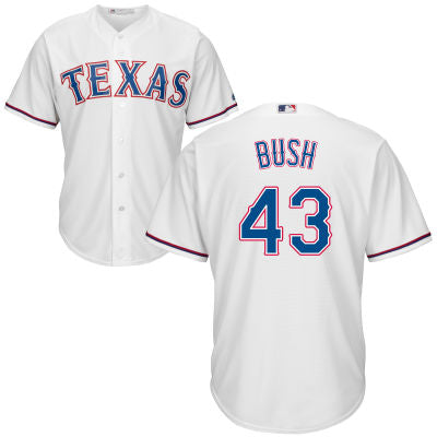 Men's Texas Rangers Presidential Series George W. Bush Majestic Cool Base Jersey