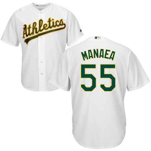 Men's Oakland Athletics Sean Manaea Majestic Cool Base Player Jersey