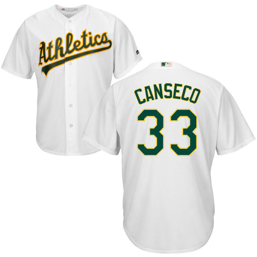 Men's Oakland Athletics Jose Canseco Majestic Cool Base Player Jersey