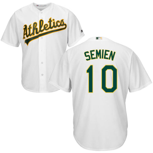 Men's Oakland Athletics Marcus Semien Majestic Cool Base Player Jersey