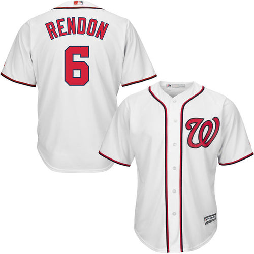 Men's Washington Nationals Anthony Rendon Home Majestic Cool Base Jersey