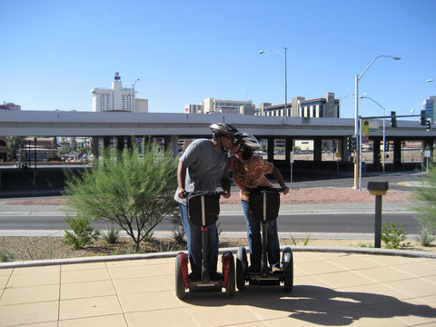 Segways in Las Vegas Smooch