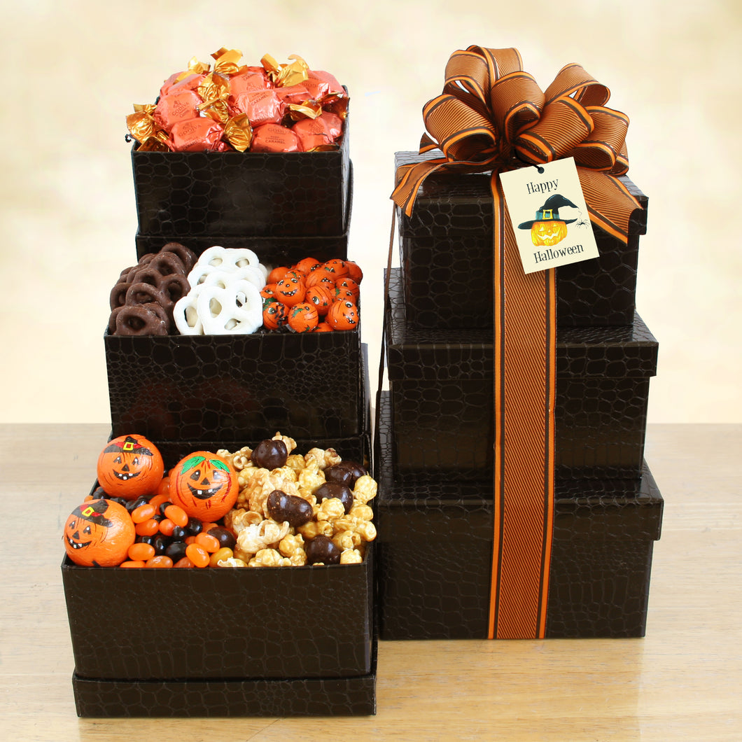 Halloween Tower of Sweets