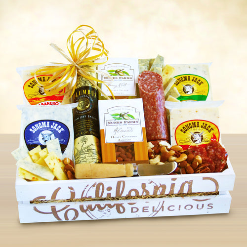 Fine Cheeses Crate