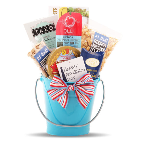 Best Dad Bucket - Vogue Gift Baskets
