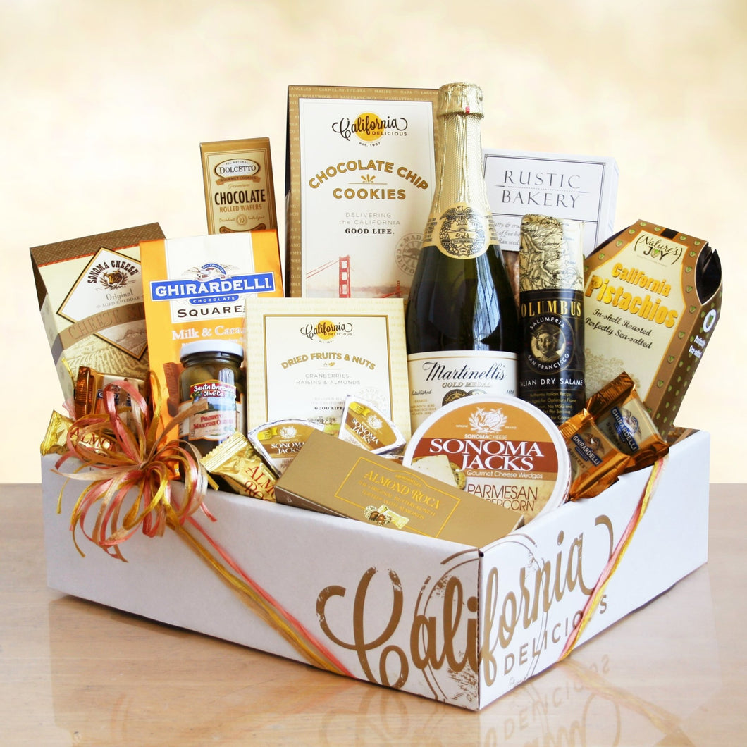 California Artisanal Feast - Vogue Gift Baskets