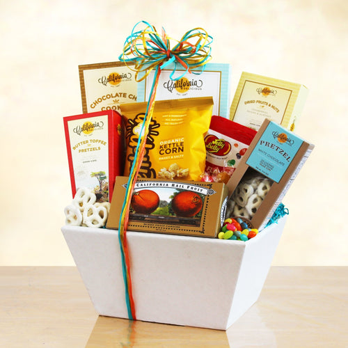 California Delicious Snack - Vogue Gift Baskets