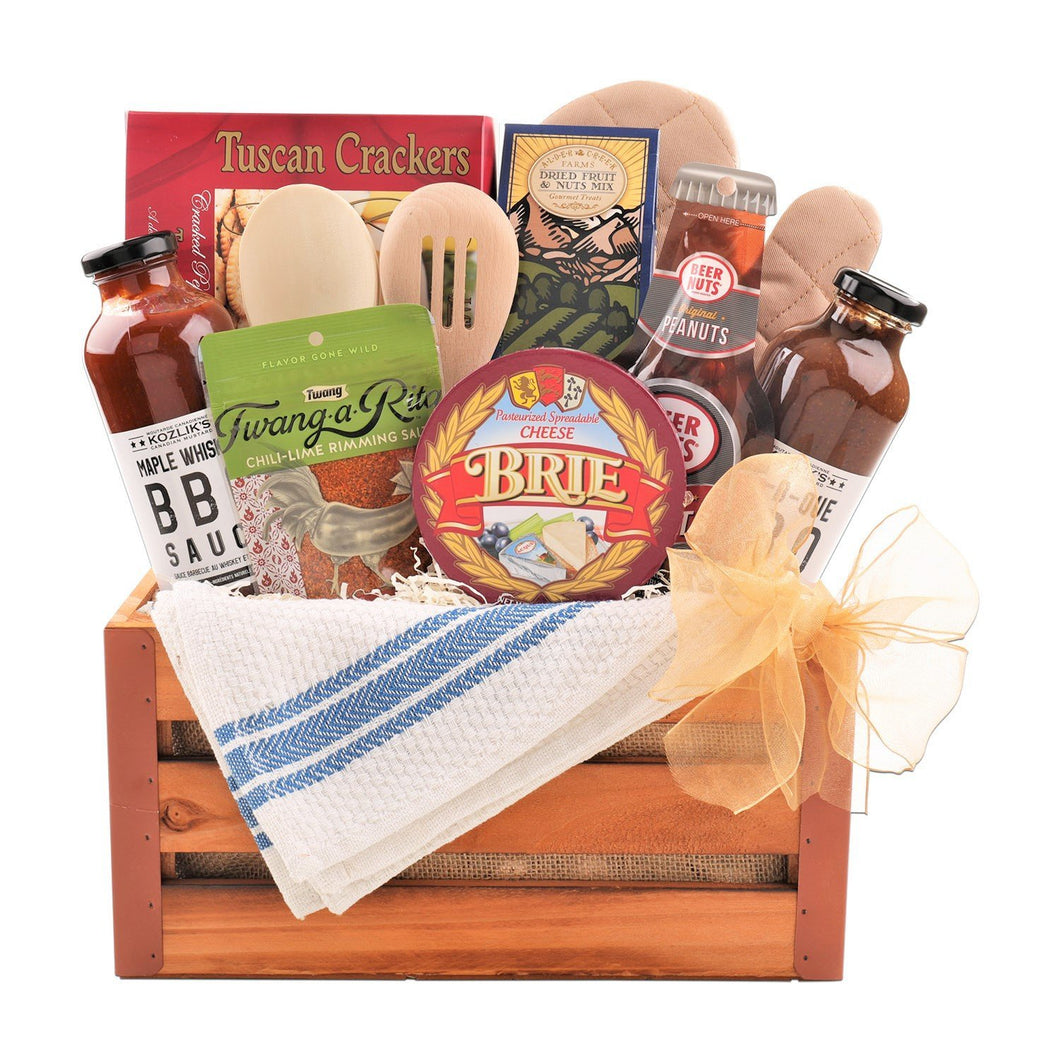 Dad's BBQ Crate - Vogue Gift Baskets