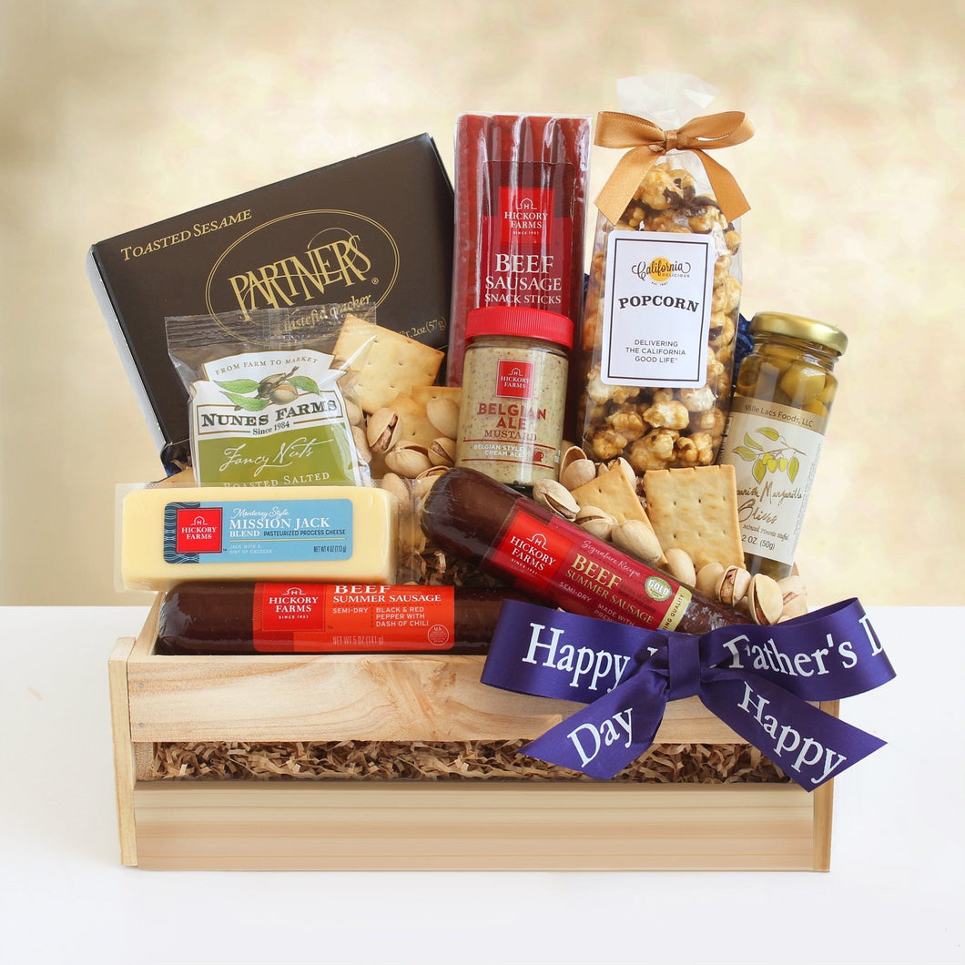 Dad's Meat Crate - Vogue Gift Baskets