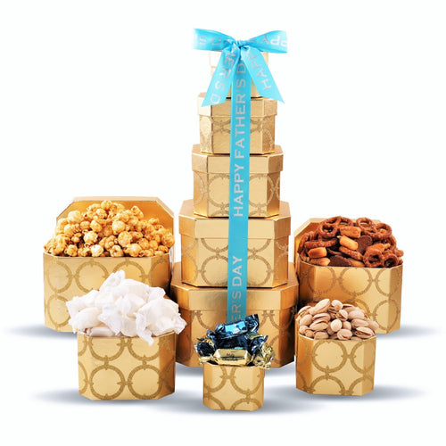 Dad's Day Tower - Small - Vogue Gift Baskets
