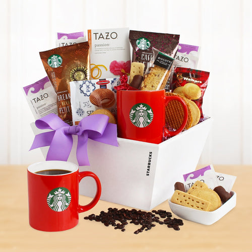Deluxe Starbucks - Vogue Gift Baskets